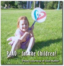 PAAO - for the children!